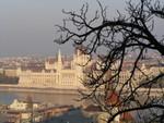 Blick auf das Parlament von der Fischerbastei
