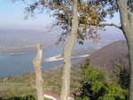 Blick von der Burgruine in Visegrad