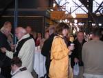 Imbiss in der Markthalle in Budapest