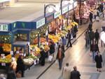 Markthalle in Budapest