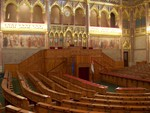 im Parlament in Budapest